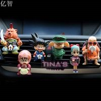 YZ car perfume dragon ball cartoon doll cool styling outlet air freshener 8pcs/lot