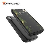 TOPROAD Battery Charger Cases for iPhone X iphoneX 6000mAh Power Bank Ultra Slim