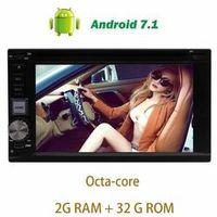 EinCar Android 7.1 Car Stereo Headunit trip computer 2Din DVD Player GPS Navigation
