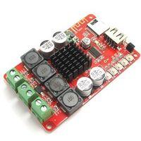 Fasdga TPA3116 2X50W Bluetooth Digital Power Amplifier Board with Remote Control