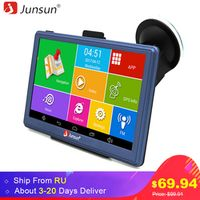 Junsun 7 inch HD Car GPS Navigation FM MP3/MP4 Players Russia/Europe Map Upgrade
