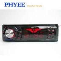 PHYEE Wide LCD 1 Din Indash Bluetooth Radio Coche Car MP3 Player USB WMA ID3 FM