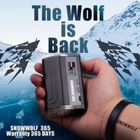 Top selling vape box snowwolf 365 tc mod Mod Snow wolf 365w in stock