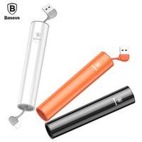 Baseus Portable 2000mAh Power Bank For iPhone 8 7 6 Micro USB Output Powerbank