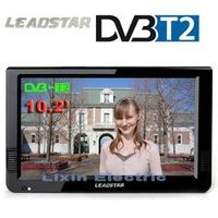 LEADSTAR HD Portable TV 10 Inch Digital Analog Led Support TF Card USB Audio Car