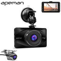 Apeman C570 3 Inch LCD 1080P Dash Cam DVR Camcorder Novatek NTK96650 Full HD Camera