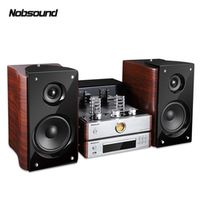 Nobsound Bluetooth Combined Output power 60W 5670 Electron tube amplifier Bookshelf