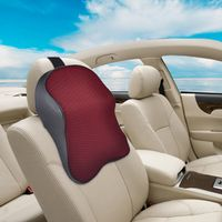 beler Car Auto Seat Soft Headrest Memory Foam Pad Pillow Head Neck Rest Support
