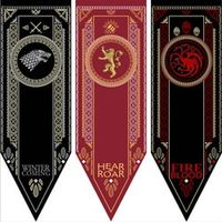 Home Decor Game Of Thrones Banner Stark Tully Targaryen