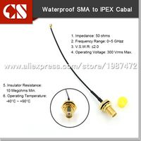 CSIOTTCL IP66 waterproof SMA female adapter RF1.13 cable with IPEX RF jumper