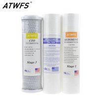 ATWFS 10-Inch Water Purifier 5 micron Cotton 1 micron PP