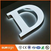 shsuosai mini LED backlit channel letter signsLED open