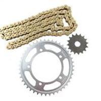 New Chain and Sprocket Extreme Kit For Suzuki GSR 600 2006-2010 DL 650 2004-2010