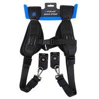 PULUZ Metal Hook Digital Camera Shoulder Pad Strap Carry Speed Single Neck Sling