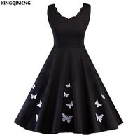 XINGQIMENG Cocktail Dresses Homecoming Dress Knee Length