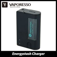 Oiginal Vaporesso Energystash Portable Charger- 002 to charge 2 pcs rechargeable 18650 Batteries Useful 18650 Battery Charger