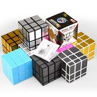 do dower 1pcs 3x3x3 8 Colors Mirror Coated Puzzle