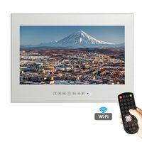 YAWATER Soulaca 22 inch Frameless Smart Waterproof Magic Mirror Bathroom TV M220FA