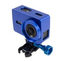 Orbmart Metal Frame Protective Case + 37mm UV Filter For Xiaomi Yi 2 Xiaoyi 2 4K Action Sport Camera CNC Aluminum Cover