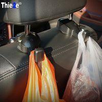 Thie2e Car Back Headrest Hanger Holder Hooks For SEAT Ibiza Leon Toledo Exeo FR