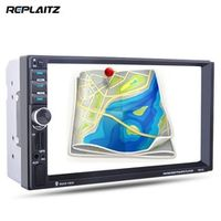 Replaitz 7021G 2 Din Car MP4/MP5 7inch Touch Screen With Radio GPS Function SD USB