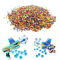 10000pcs/bag Crystal Soil Hydrogel Gel Polymer Water Beads