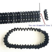 Tank track 1:16 RC tank German Panther G 3879 track-type remote control tank accessories plastic track