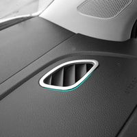 RIMIDI Car styling stainless steel Air conditioning vent cover sticker accessories