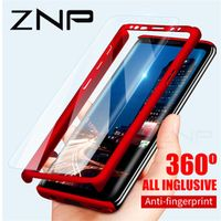 ZNP 360 Degree Shockproof Phone Case For Samsung Galaxy S9 Plus Note 8 9 S7 Edge S8