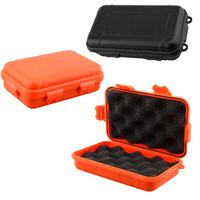 WALFRONT Outdoor Shockproof Protection Waterproof Tool Box Matches Case Holder
