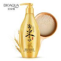 BIOAQUA China Tradition Wash Water Shampoo Black Rice Milk Hair Care Oil-control