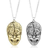 Movie Jewelry The Avenger Necklace Hulk Mask Pendant Necklace women men necklace