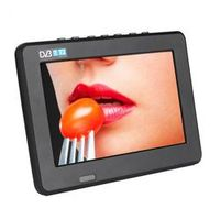 LEADSTAR Televisions 7 Inch HD TFT LCD Color DVB-T2 Portable TV Support Card USB