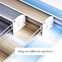 COJA BLINDS graduated color roller blind Shutter Shade