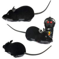 MAGICYOYO Scary RC Remote Controller Simulation Plush Mouse