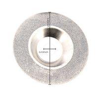Kitbakechen 100mm 4 inch Diamond coated Polishing Grind Disc Saw Blade Rotary Wheel