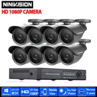 AHD 8CH CCTV System 1080P HDMI DVR 2.0MP 3000TVL Outdoor Weatherproof CCTV Camera set Home Security System Surveillance Kit