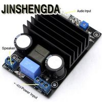 JINSHENGDA IRS2092 Class D 200W Mono Audio Power Amplifier AMP Assembled Board