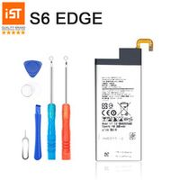 100% IST Phone Battery For Samsung Galaxy S6 Edge G920F G925F Replacement Battery