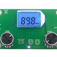 FLAMESER DSP PLL Digital Stereo FM Radio Receiver Module 87-108MHz with Serial