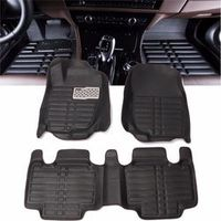 Autoleader Black Foot Pad Front Rear Waterproof Mat For TOYOTA RAV4
