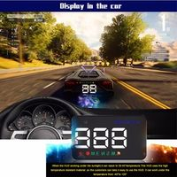 youe shone 2018 ASH-A5 Head Up Display Film GPS HUD Head-Up Windshield OBD2 Projector