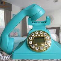 CY-8887 antique telephone fashion phone home telephone landline telephone