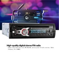 KKmoon Universal Car Stereo Radio Audio CD DVD MP3 Player with FM Aux Input SD/USB