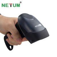 NETUM Wireless Barcode Scanner Bluetooth Scanne 2D QR USB CCD Bar Code Reader for POS