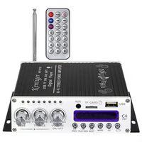 Kentiger V10 Bluetooth Hi-Fi Class-AB Stereo Super Bass Audio Power Amplifier