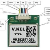 V.KEL 100pcs VK2828T1G5L Module GPS Receiver with High Sensitivity Manufacturer
