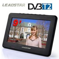 LEADSTAR HD Digital Analog Receiver LED Television Car TV Support TF Card USB Audio