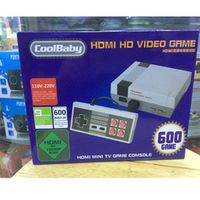 CoolBaby HD Mini TV Family HDMI 8 Bit Retro Video Console Built-In 600 Game Handheld