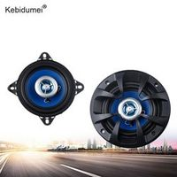 kebidumei 2 Way Automotive Car Coaxial Stereo Audio Speaker Universal 80W 4 Inch Auto